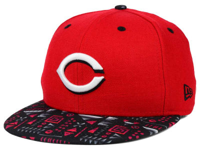 Cincinnati Reds MLB Geo 59FIFTY Cap Hats