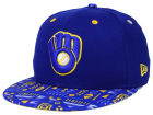 Milwaukee Brewers New Era MLB Geo 59FIFTY Cap Fitted Hats
