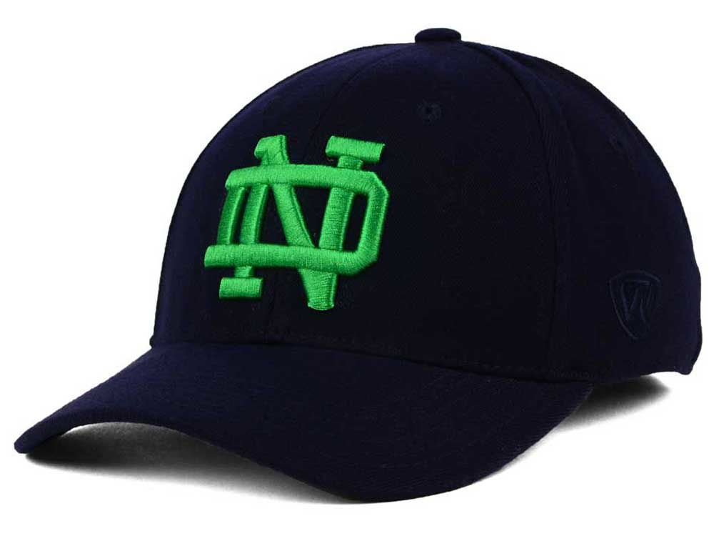 04c41846033 Notre Dame Fighting Irish Top of the World NCAA Memory Fit PC Cap 80 ...
