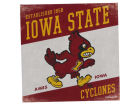 Iowa State Cyclones Legacy 14x14 Vintage Mascot Wall Art Collectibles