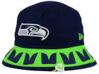 Seattle Seahawks New Era NFL Team Stripe Bucket Hats