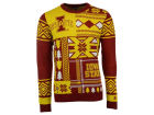 Iowa State Cyclones Forever Collectibles NCAA Men's Patches Ugly Sweater Sweatshirts