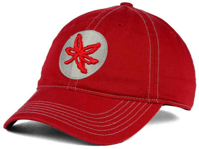 J America NCAA Tonal Leaf Relaxed Adjustable Cap Hats