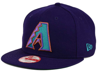 Arizona Diamondbacks MLB 2 Tone Link Cooperstown 9FIFTY Snapback Cap Hats