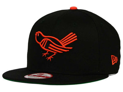 Baltimore Orioles MLB 2 Tone Link Cooperstown 9FIFTY Snapback Cap Hats