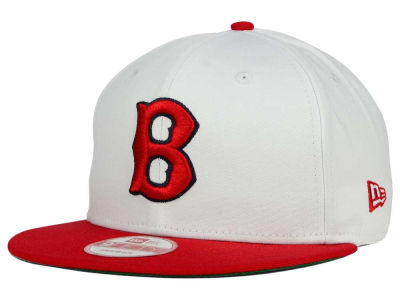 Boston Red Sox MLB 2 Tone Link Cooperstown 9FIFTY Snapback Cap Hats