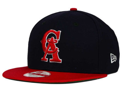 Los Angeles Angels MLB 2 Tone Link Cooperstown 9FIFTY Snapback Cap Hats