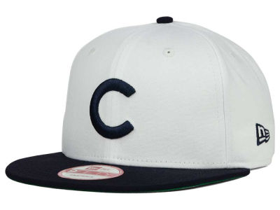 Chicago Cubs MLB 2 Tone Link Cooperstown 9FIFTY Snapback Cap Hats