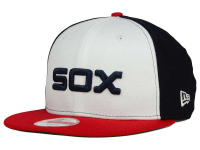 Chicago White Sox MLB 2 Tone Link Cooperstown 9FIFTY Snapback Cap Hats