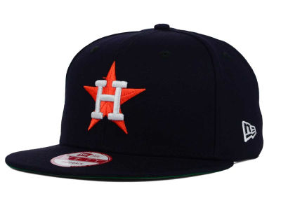 Houston Astros MLB 2 Tone Link Cooperstown 9FIFTY Snapback Cap Hats