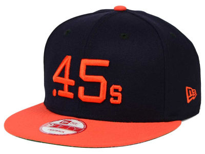Houston Colt 45s MLB 2 Tone Link Cooperstown 9FIFTY Snapback Cap Hats