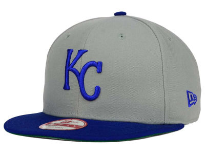 Kansas City Royals MLB 2 Tone Link Cooperstown 9FIFTY Snapback Cap Hats