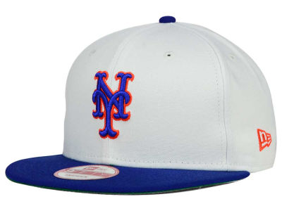 New York Mets MLB 2 Tone Link Cooperstown 9FIFTY Snapback Cap Hats