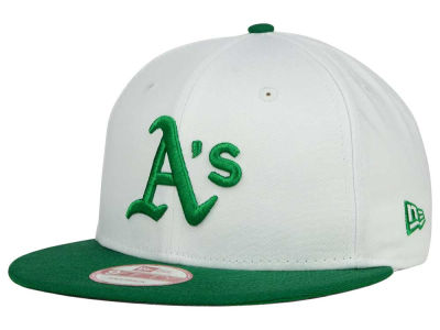 Oakland Athletics MLB 2 Tone Link Cooperstown 9FIFTY Snapback Cap Hats