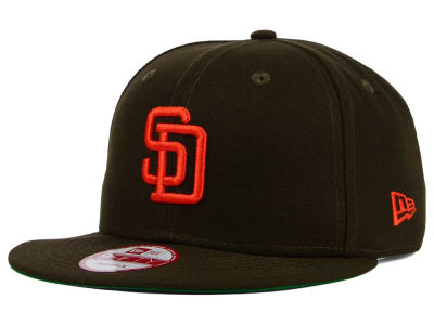 San Diego Padres MLB 2 Tone Link Cooperstown 9FIFTY Snapback Cap Hats