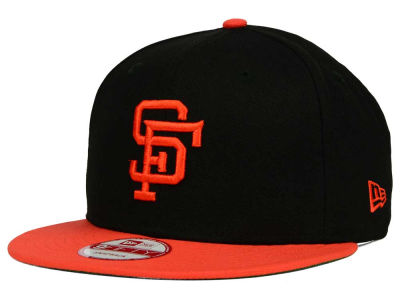 San Francisco Giants MLB 2 Tone Link Cooperstown 9FIFTY Snapback Cap Hats