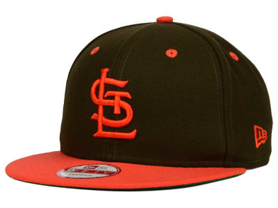 St. Louis Browns MLB 2 Tone Link Cooperstown 9FIFTY Snapback Cap Hats