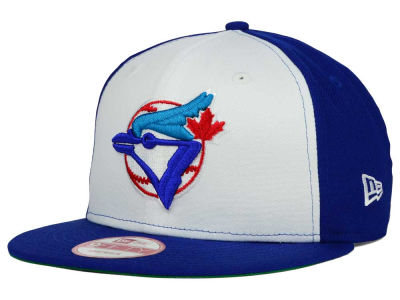 Toronto Blue Jays MLB 2 Tone Link Cooperstown 9FIFTY Snapback Cap Hats