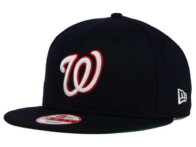 Washington Nationals MLB 2 Tone Link Cooperstown 9FIFTY Snapback Cap Hats