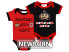Ohio State Buckeyes NCAA Newborn 2 Pack Contrast Creeper Infant Apparel