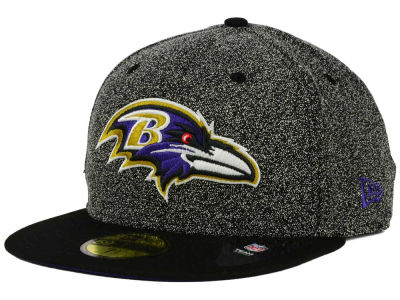 Baltimore Ravens NFL Spec Top 59FIFTY Cap Hats
