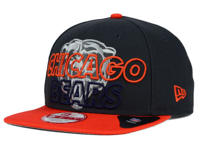 Chicago Bears NFL Graph Outline 9FIFTY Snapback Cap Hats