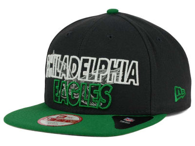 Philadelphia Eagles NFL Graph Outline 9FIFTY Snapback Cap Hats