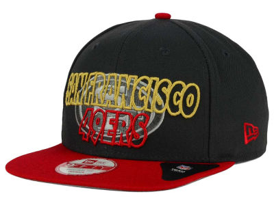San Francisco 49ers NFL Graph Outline 9FIFTY Snapback Cap Hats