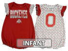 Ohio State Buckeyes Outerstuff NCAA Infant Girls Polka Dot Fan Set Outfits