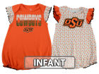 Oklahoma State Cowboys Outerstuff NCAA Infant Girls Polka Dot Fan Set Outfits