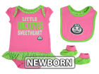 Ohio State Buckeyes Outerstuff NCAA Newborn Girls Pink Little Sweet Set Outfits