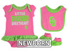 Oklahoma Sooners Outerstuff NCAA Newborn Girls Pink Little Sweet Set Outfits