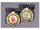 Oklahoma Sooners Wreath Ornament Holiday