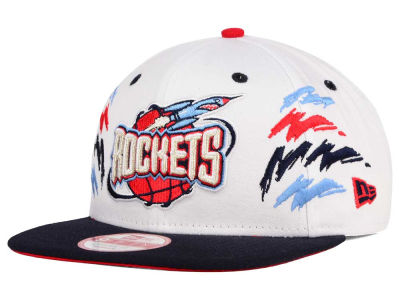 Houston Rockets NBA HWC Old Cool 9FIFTY Snapback Cap Hats