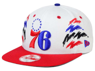 Philadelphia 76ers NBA HWC Old Cool 9FIFTY Snapback Cap Hats