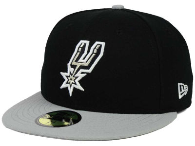 San Antonio Spurs NBA Side Hit 59FIFTY Cap Hats