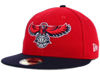 Atlanta Hawks NBA Side Hit 59FIFTY Cap Hats
