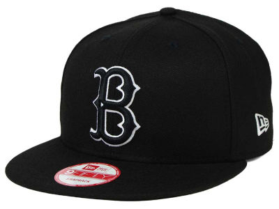 Brooklyn Dodgers MLB Black White 9FIFTY Snapback Cap Hats