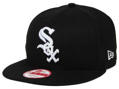 Chicago White Sox MLB B-Dub 9FIFTY Snapback Cap Hats
