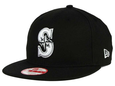 Seattle Mariners MLB B-Dub 9FIFTY Snapback Cap Hats