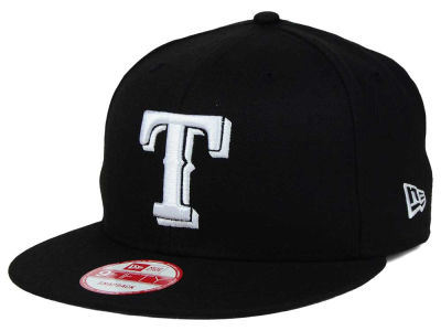Texas Rangers MLB B-Dub 9FIFTY Snapback Cap Hats