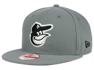 Baltimore Orioles MLB Gray Black White 9FIFTY Snapback Cap Hats