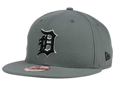 Detroit Tigers MLB Gray Black White 9FIFTY Snapback Cap Hats