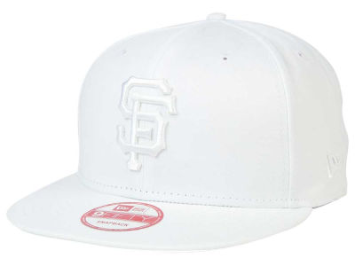 San Francisco Giants MLB White on White 9FIFTY Snapback Cap Hats