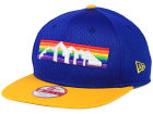 Denver Nuggets New Era NBA HWC Jersey Gamer 9FIFTY Snapback Cap Adjustable Hats