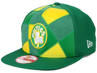 Boston Celtics NBA HWC Cut & Paste 9FIFTY Snapback Cap Hats