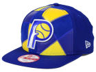 Indiana Pacers New Era NBA HWC Cut & Paste 9FIFTY Snapback Cap Adjustable Hats