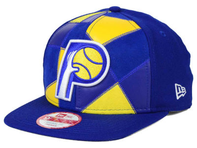 Indiana Pacers NBA HWC Cut & Paste 9FIFTY Snapback Cap Hats