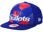 Washington Bullets New Era NBA HWC Cut & Paste 9FIFTY Snapback Cap Adjustable Hats