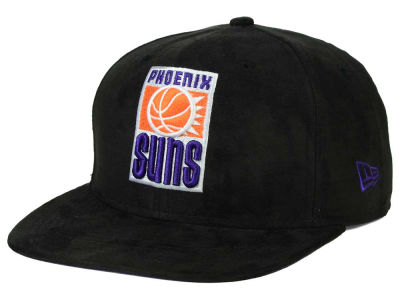 Phoenix Suns NBA HWC Suede Collection 9FIFTY Strapback Cap Hats